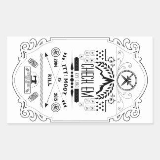 Fourchan Ode Rectangular Sticker