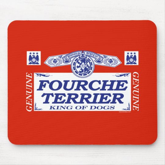 Fourche Terrier Mouse Pad