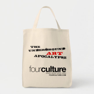 Fourculture is the Underground Art Apocalypse Tote Bag