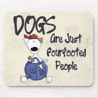 Fourfooted People Mouse Pad