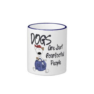 Fourfooted People Ringer Mug