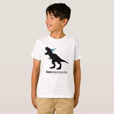 fourosaurus rex family dinosaur shirt