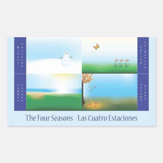 Fours Seasons Bilingual School Sticker