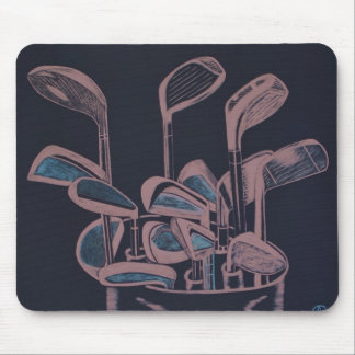 """FOURTEEN CLUBS"" MOUSE PAD"