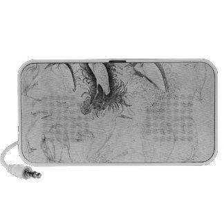 Fourteen egrets from the The Vallardi Album iPod Speakers