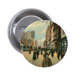 Fourteenth St, New York City Button
