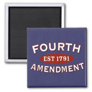 Fourth Amendment Est 1791 Magnet