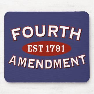 Fourth Amendment Est 1791 Mouse Pad