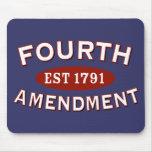 Fourth Amendment Est 1791 Mousepads