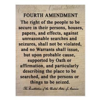 Fourth Amendment Postcards