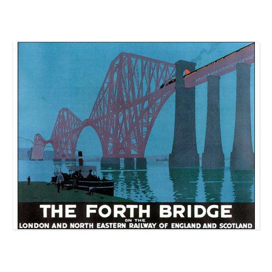 Fourth Bridge, London Postcard