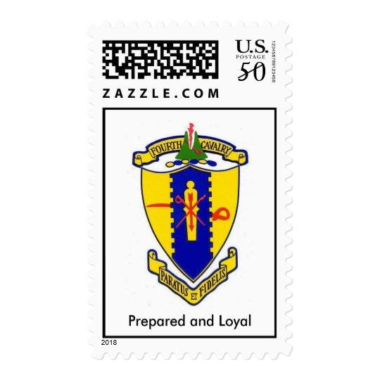Fourth Cavalry Postage