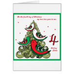 Fourth Day of Christmas Cards