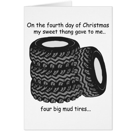 Fourth Day Redneck Christmas Card