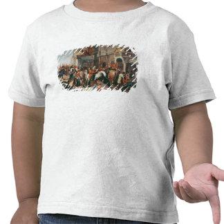Fourth Dragoon Guards leaving Shirts