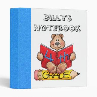 Fourth Grade Notebook Binder