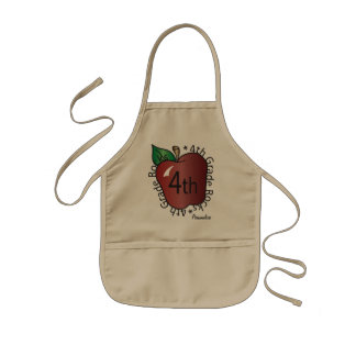 Fourth Grade Personalize  | School Kids' Apron