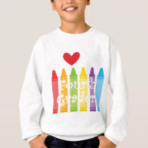 Fourth grade teacher2 sweatshirt