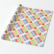 Fourth grade teacher2 wrapping paper