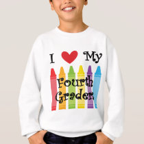 Fourth grade teacher sweatshirt