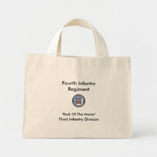 Fourth Infantry Regiment, Third... Mini Tote Bag