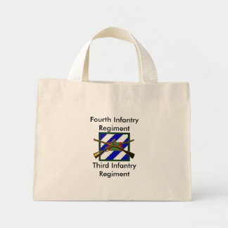 Fourth Infantry Regiment, Third... Mini Tote Bag