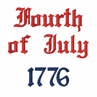 Fourth of July 1776 Hoodie