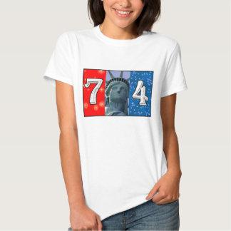 Fourth Of July Art Shirts