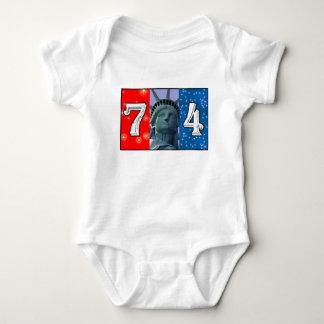 Fourth Of July Art T-shirt