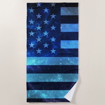 USA Themed Fourth of July Beach Towel