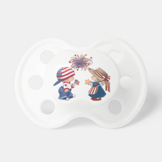 Fourth of July BooginHead Pacifier