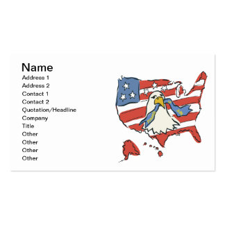 Fourth Of July Double-Sided Standard Business Cards (Pack Of 100)