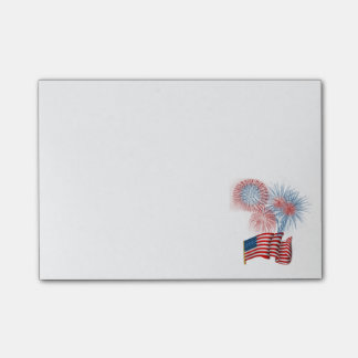 Fourth of July celebration Post-it Notes