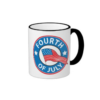 Fourth of July Coffee Mugs
