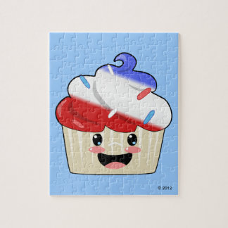 Fourth of July Cupcake Puzzle