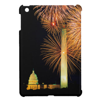 Fourth of July, Firework Display, Skyline iPad Mini Cases