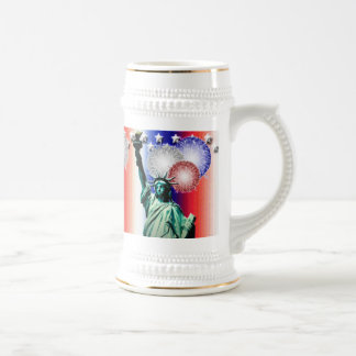 Fourth of July Fireworks Mug