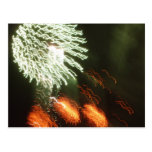 Fourth of July fireworks Post Card
