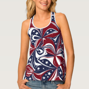 USA Patriotic Fourth of July tank top Lip muscle tank Red White and Blue Glitter Lip Muscle Tank Stars and Stripes Glitter muscle tank