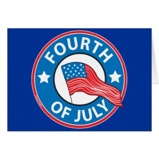 Fourth of July Greeting Cards