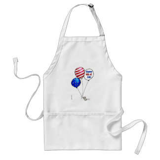 Fourth of July -  Have a day off. Adult Apron
