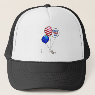 Fourth of July -  Have a day off. Trucker Hat