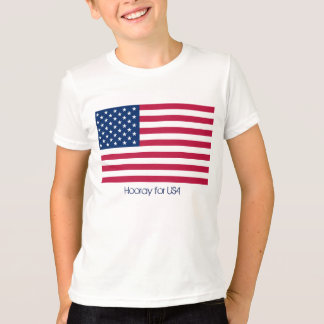Fourth of July Hooray for USA T-Shirt