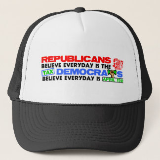 Fourth of July or Tax Day? Trucker Hat