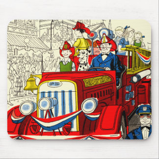 Fourth of July Parade Mouse Pad