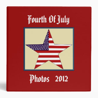 FOURTH OF JULY PHOTO Binder