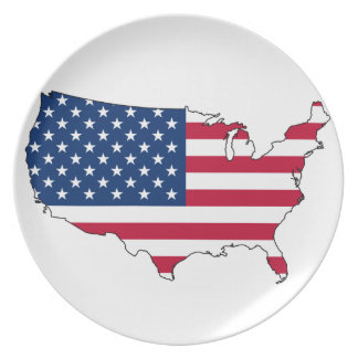 Fourth of July Plate
