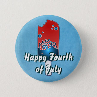 Fourth of July Popsicle Button