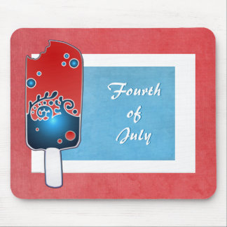 Fourth of July Popsicle Mousepad