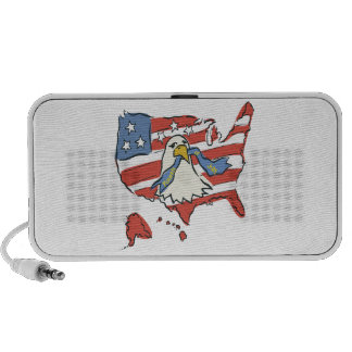 Fourth Of July Portable Speakers